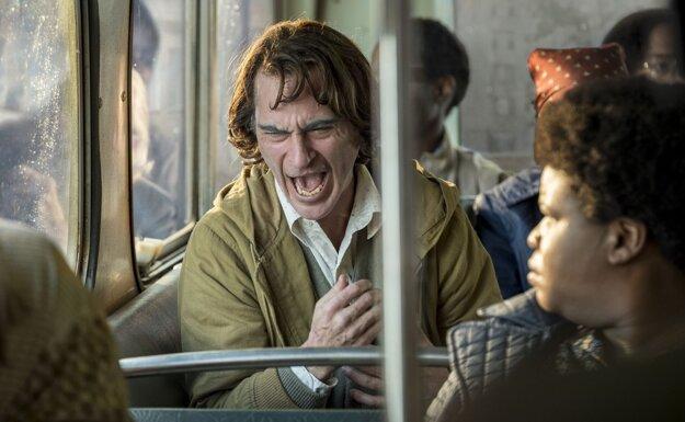 Joaquin Pheonix vo filme Joker.