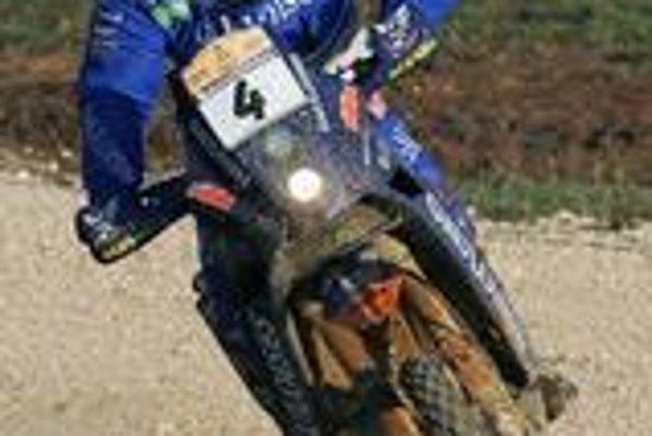Isidre Esteve Pujol počas Rely Dakar 2007