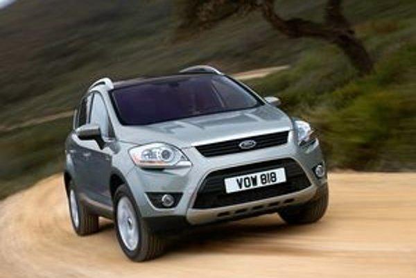 Ford Kuga príde na trh v septembri.