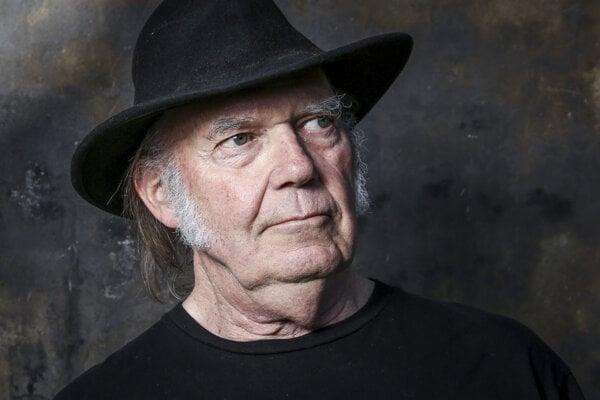 Neil Young, autor skladby Like a Hurricane.