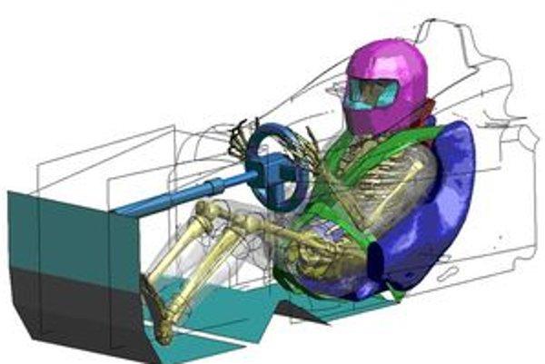 Toyota využíva údaje a informácie z počítača pri  konštrukcii sedadiel pretekárskych automobilov.