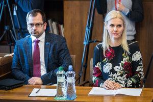Monika Jankovská počas zasadnutia Ústavnoprávneho výboru Národnej rady SR v januári 2019.