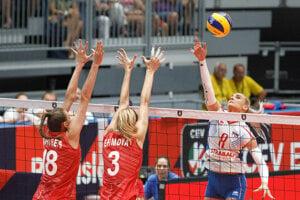 Miroslava Kijaková čelila na šampionáte esám svetového volejbalu.