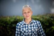Andrej Pajger bol jedným z prvých organizátorov klimatických protestov Fridays for Future na Slovensku a zároveň bol medzi nimi najmladší.