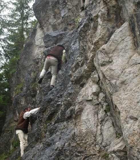 prvé lezenie