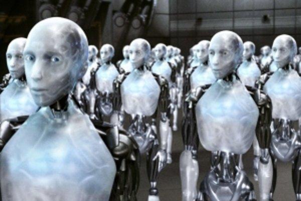 S umelou inteligenciou sa rád hrá aj Hollywood. Napríklad vo filme Ja, robot.