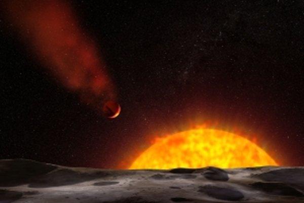 Hubblov vesmírny ďalekohľad potvrdil, že za exoplanétou Osiris je chvost ako pri kométach.