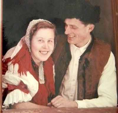 svadba 7. februára 1956.