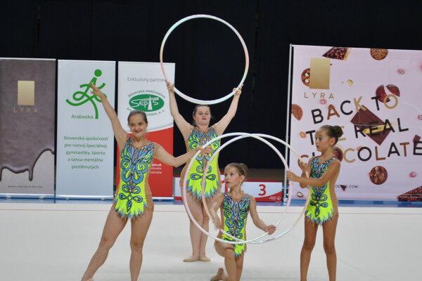 Na majstrovstvách zahviezdili aj športovkyne nitrianskej Arabesky.