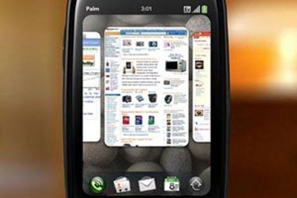 Palm Pre s novým operačním systémem WebOS