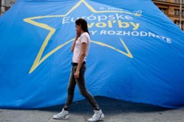 Málo voličov prišlo k eurovoľbám už pred piatimi rokmi.
