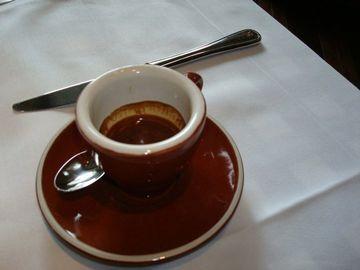 vzorové talianske espresso, silné jak šľak