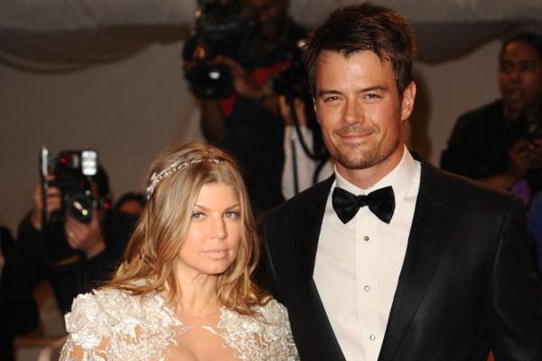 Fergie so svojím manželom Joshom Duhamelom