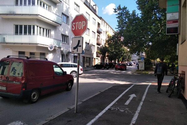 Ulica Republiky v Žiline.