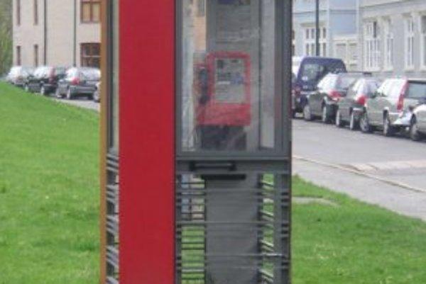 Chránený typ nórskych telefónnych búdok.