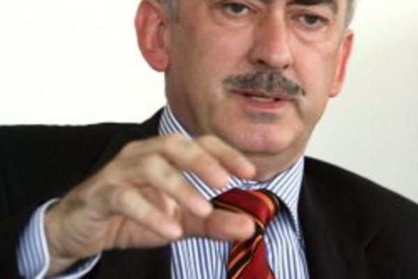 Rüdiger Schulz, viceprezident spoločnosti Slovak Telekom.