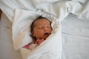 Ester Štefulová (4030 g, 52 cm) sa narodila 2. septembra Alžbete a Petrovi z Ladiec.