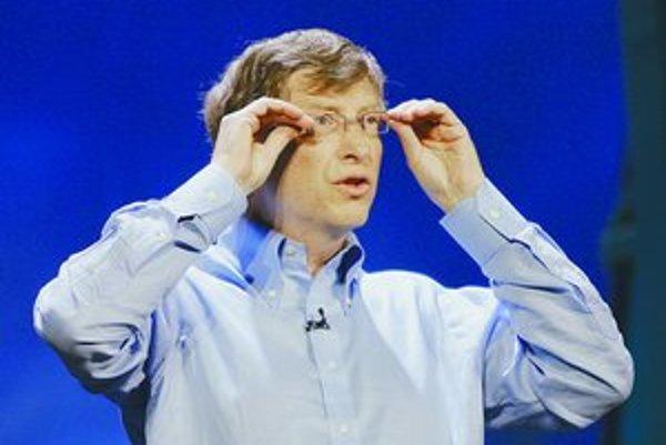 Domácnosti už majú počítače, teraz potrebujú ešte servery, myslí si Bill Gates.
