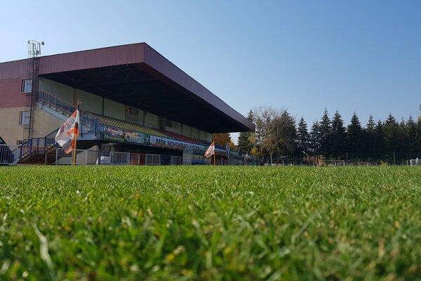 Futbalový štadión v Lučenci.