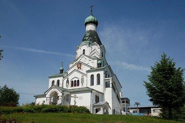 Chrám Svätého Ducha v Medzilaborciach.