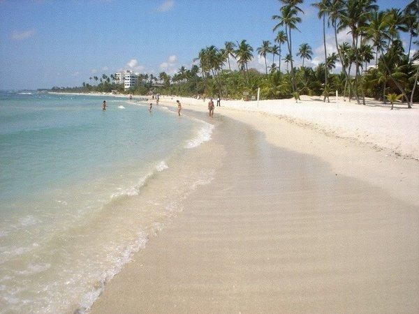 Dominikánska republika - pláž