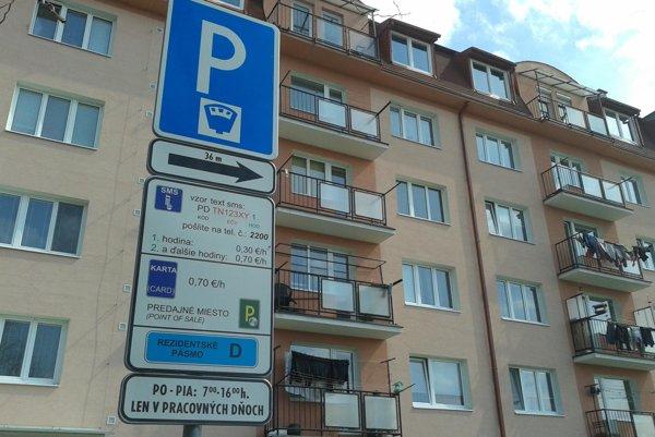 Centrálna mestská parkovacia zóna sa rozšíri.