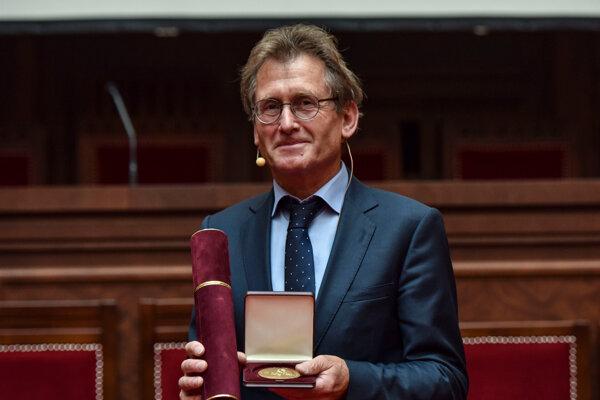 Holandský profesor Bernard Lucas Feringa.