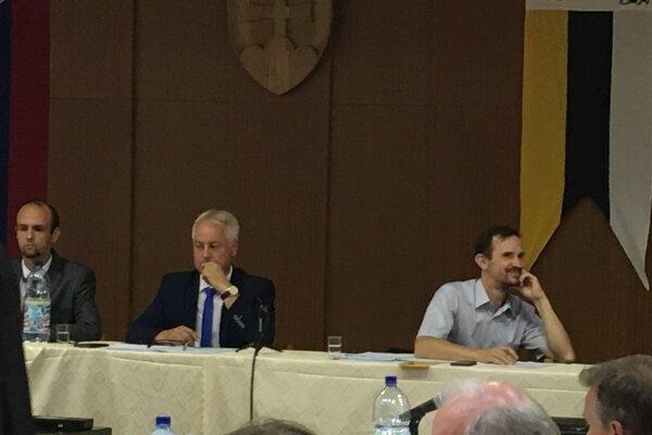 Nový zástupca primátora Rastislav Zanovit (vpravo).