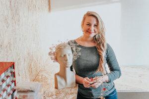Zuzana Búry Zliechovcová sa umeleckej činnosti venuje už roky.