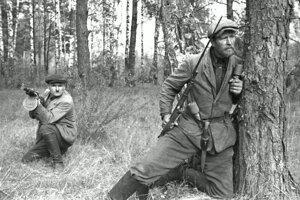 Sovietski partizáni boli najpočetnejšou odbojovou skupinou na území dnešného Bieloruska.