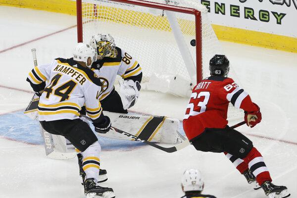 Prípravný zápas medzi New Jersey a Bostonom.