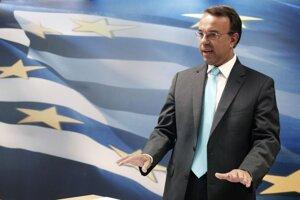 Grécky minister financií Christos Staikouras.