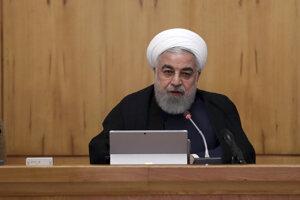 Iránsky prezident Hassan Rúhaní.