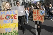 Environmentálne protesty v Nemecku.