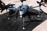 Neďaleko hraníc s Izraelom odchytili a zneškodnili dron vybavený kazetovými bombami.
