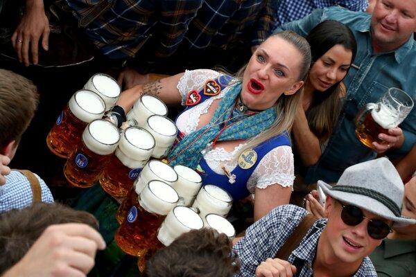 V Mníchove sa začal Oktoberfest.