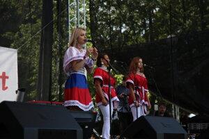 Speváčka Dominika Stará.