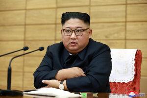 Kim Čong-un.