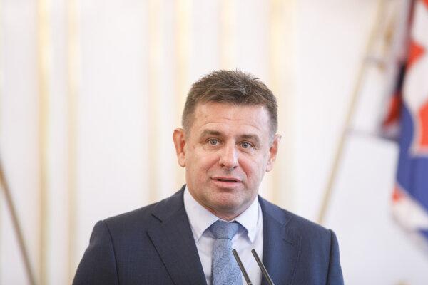 Podpredseda slovenskej vlády a minister životného prostredia László Sólymos.