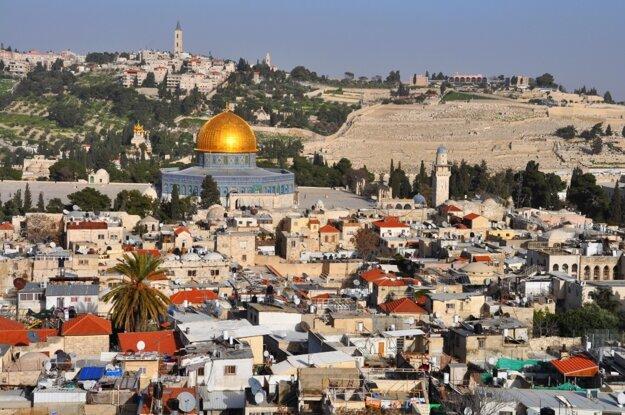 Pohľad na Jeruzalem
