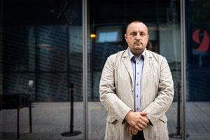 Šéf vyšetrovacieho tímu Gorila Lukáš Kyselica.