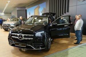 Mercedes GLS.