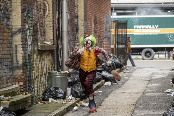 Joaquin Phoenix vo filme Joker.