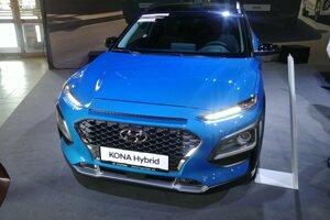 Hyundai Kona v novej verzii Hybrid.