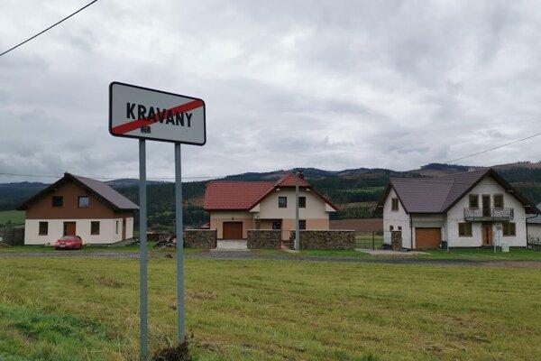 Obec Kravany v okrese Poprad.