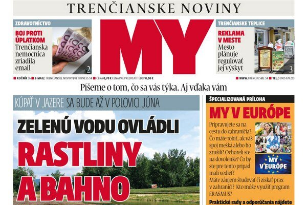 Najnovšie vydanie MY Trenčianskych novín