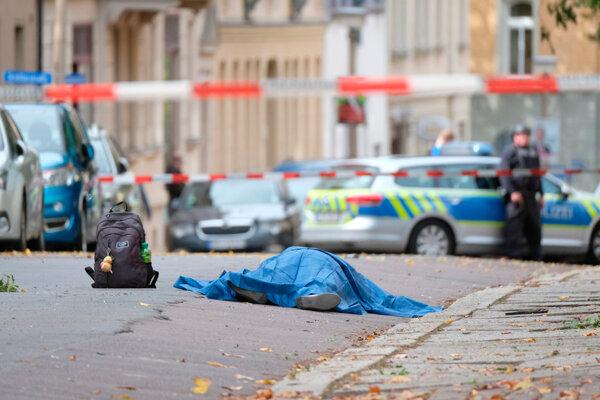 V Halle došlo k streľbe.