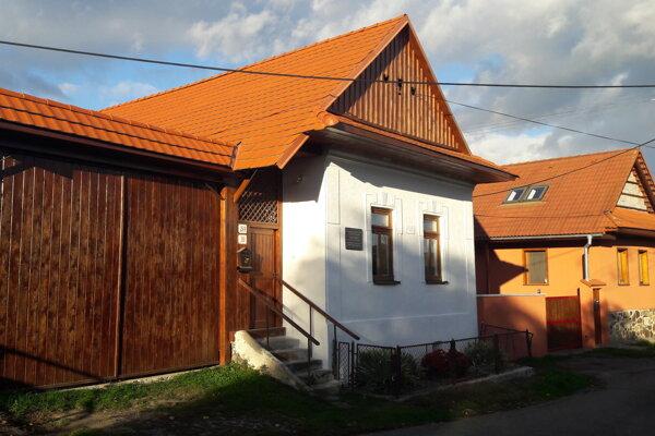 Rodný dom  Márie Ďuríčkovej vo Zvolenskej Slatine.