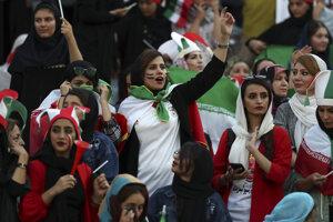 Fanúšičky Iránu.