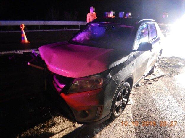 V jeden deň dve dopravné nehody.